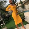 8 Nigerian Female Celebs that Slayed in Yellow.