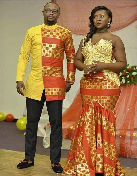 Couples matching ankara