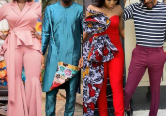 Top 10 Most Stylish Nigerian Celebrities of 2018.