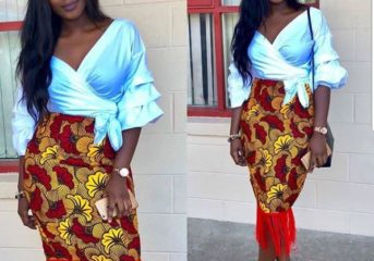 Unique Ankara Skirt Styles for this Friday.