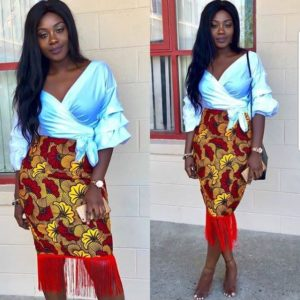 ankara skirts for parties