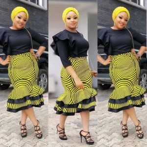 ankara styles for church