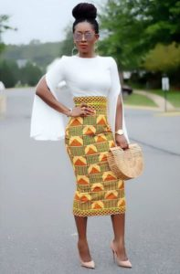 ankara skirt for work