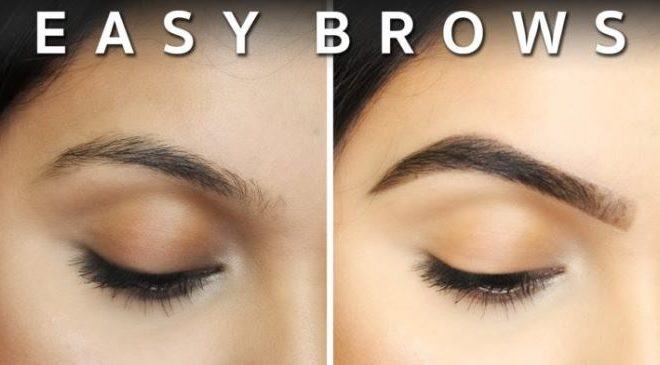 Quick and Easy Eyebrows Tutorial(video).