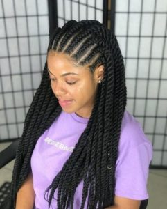 twists hairstyle