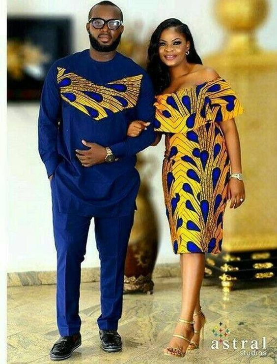 traditional ankara styles for couples