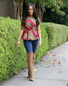 ankara styles for a date