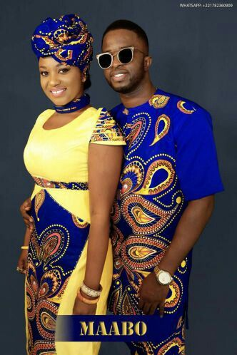 ankara styles for AFrican couples