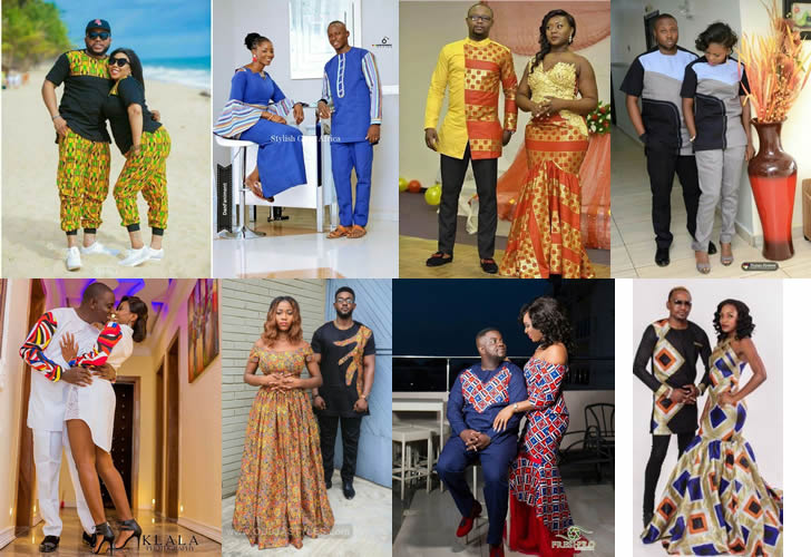 Latest Traditional African Styles For Couples