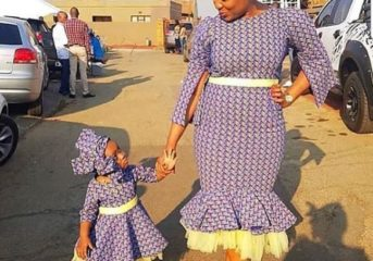 Ankara Styles for Mother and Daughter(s) Part 2.