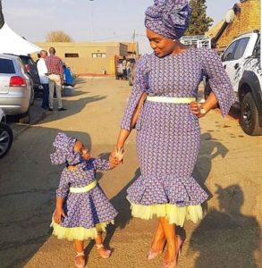 ankara styles for mum and daughters