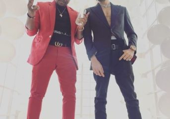Baddosneh and Phyno Rock Suits in New Photo.