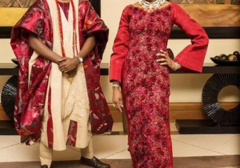 Yoruba Couple Traditional Wedding Attire Inspiration.