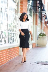 corporate outfits for black women