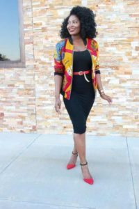 ankara short jackets