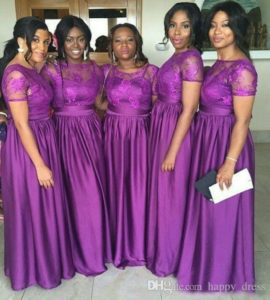 dresses for bridesmaid