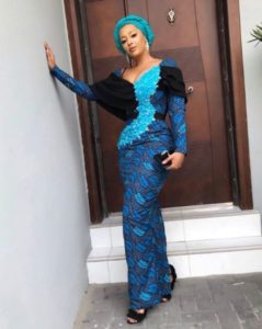 long ankara gown styles