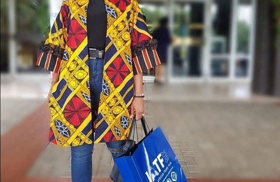 Ankara Jacket Styles for an Ankara Lover.