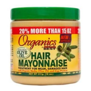 how to use hair mayonnaise