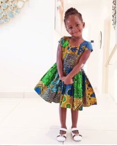 ankara dress for little girls