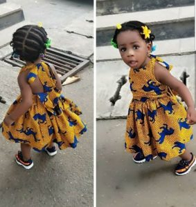 ankara gowns for babies