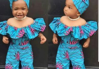 Cute Ankara Styles for your Baby Girl(s).