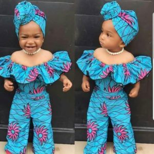 ankara jumosuit for babies