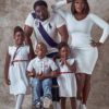 Mercy Johnson in Adorable Photos with Her Family.