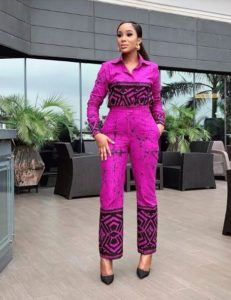 ankara blouse with trouser