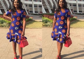 Ankara Styles for that Sunday Service.