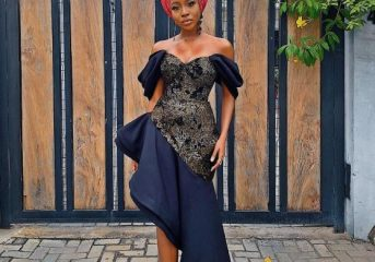 Stunning Asoebi Styles from Mo Abudu Daughter's Wedding.