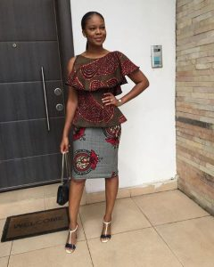 ankara styles for work