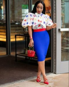 colorful corporate outfits for women