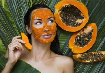 #BeautySecret.. Pineapple and Papaya Face Mask for Smooth and Soft Skin.
