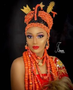 edo bride traditional wedding outfit