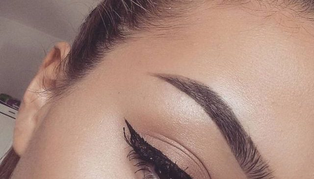 How to Draw Easy Natural Brows(Pictorial).