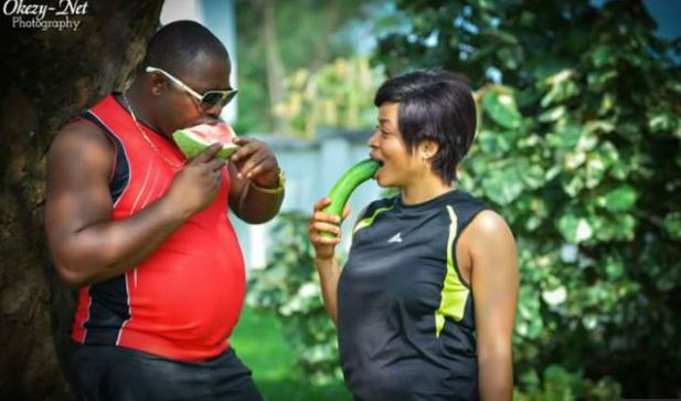 fruit pre wedding pictures