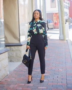 work outfits for black women