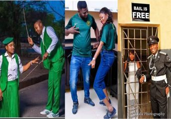 Top Viral Pre-Wedding Photos of Nigerian Couples