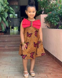 Cute Ankara Gown Styles for Your Princess(es)!