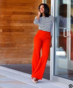 color blocking work outfits