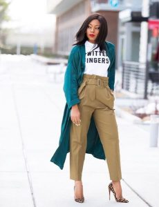 color blocking outfits on black women