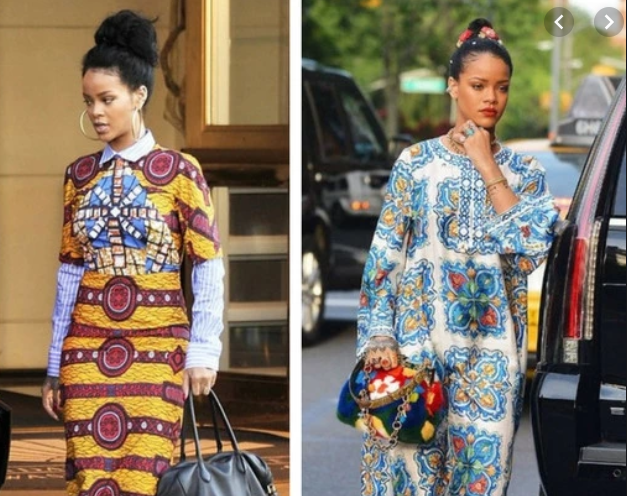 Rihanna-in-African-prints