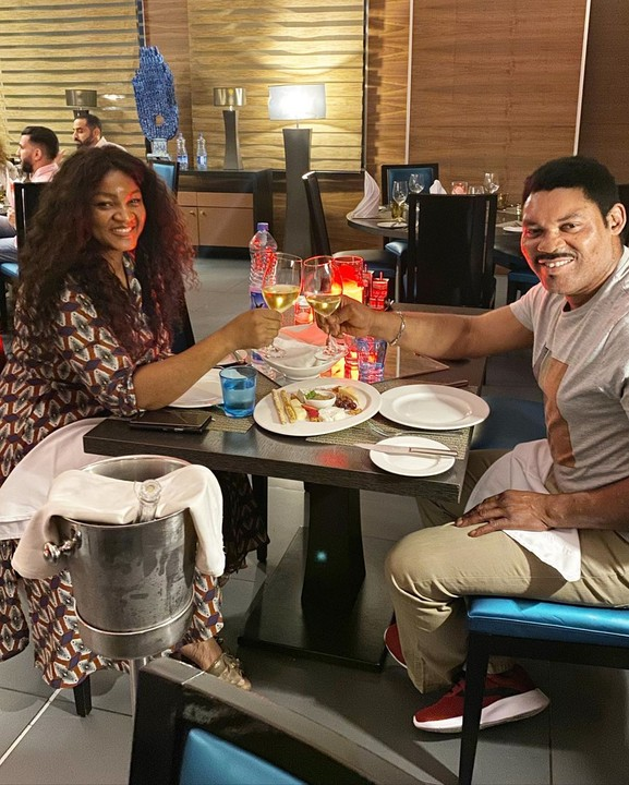 omotola ekeinde and husband matthew