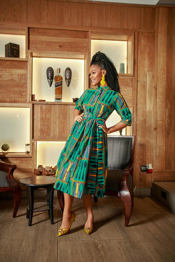 stylish Ankara dress