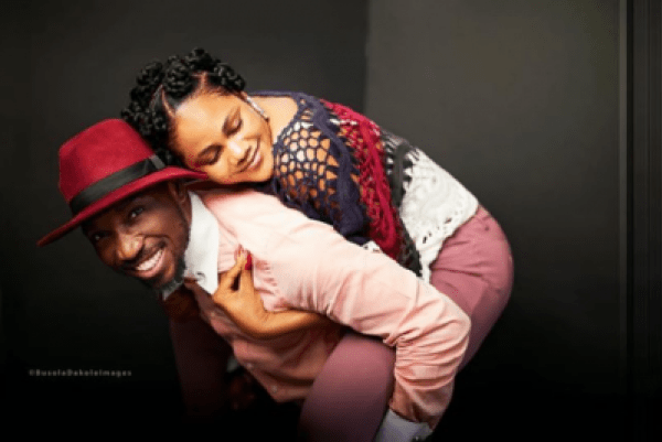 timi and busola dakolo during valentine