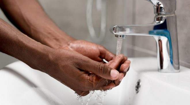 Sanitizer Works, but Hand Washing Works Better. See Why