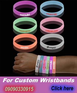 silicone wristbands company in lagos
