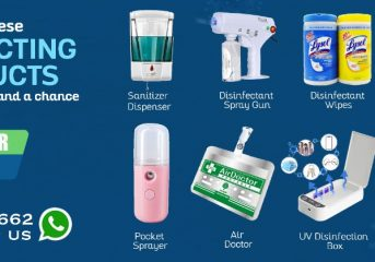 Top Disinfection Products to Fight Corona Virus