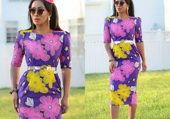 Corporate Ankara Gown Styles for the Working-class Lady.